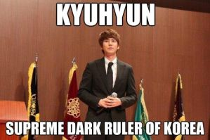President...err....Dictator Kyu by MainePoint