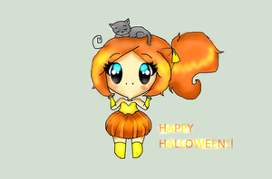 Happy Halloween (adoptable)CLOSED by Chibii-chii