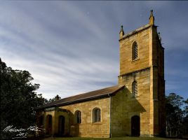 St Thomas Church Nightscape by FireflyPhotosAust