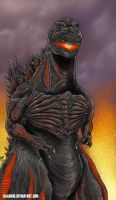 Shin-Goji The Starved by kaijukid