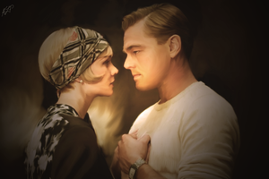 Gatsby and Daisy by RainingTragedy