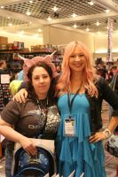 Me with  Samantha ( Arial also known as Jem) by Lady-Elita-One