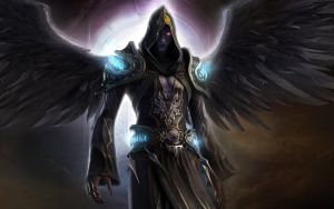 The Dark Ranger Angel by theTelekinesis