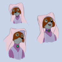 Maid Marian Practice by VinFox