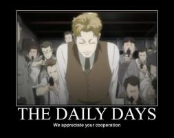 Baccano Motivational Poster 01 by HyenaBonzly