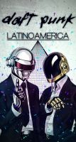 Daft Punk Latinoamerica by inkedr