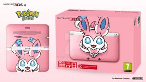 Nintendo 3DS XL Pokemon Series - Sylveon Edition by Paxxy
