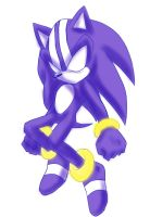DARK SPRIN SONIC by GaruGiroSonicShadow