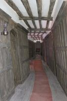 The Leaky Cauldron Corridor by Skarkdahn