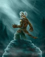 Gnome Tempete by PhanouArt
