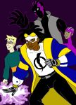 Static Shock by DeeDraws