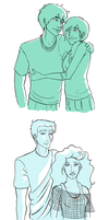 Percy Jackson-- Parents by Golden-Flute