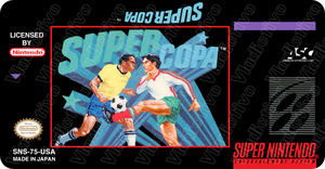 Super Copa Super Nintendo Label by vladictivo