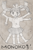 Vitruvian Monoko by Shattered-Earth