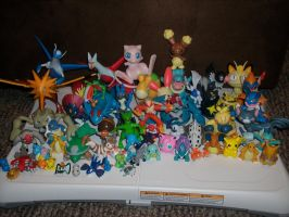 Pokemon Figures by Tawnynose