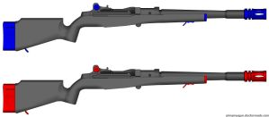 Videogame Styled Rifles by GeneralRich
