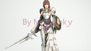 Lightning Final Fantasy XIII-2 by mr-juanky