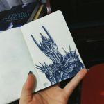 Sauron by DanielaLuther