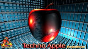 Techno Apple Screen Saver by klen70