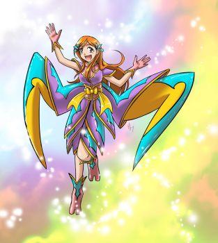 If Orihime were a fairy.... by shadrad