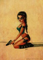 Lara Croft by glimpen