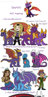Spyro Meme - 16 Years! by TheLeatherDragonI