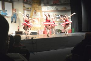 Dance Company Christmas Show,Santa's Tap Girls 12 by Miss-Tbones