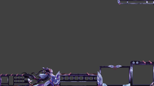 Lunar Goddess Diana League of Legends Overlay by Melificence