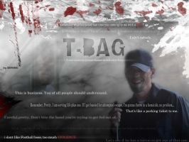 """T-BAG """"Quotes"""" Wall by SAMURAi-GR"""
