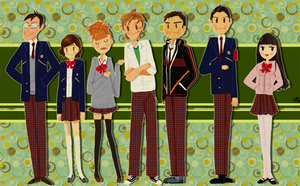 Main Cast by miumiuchuu