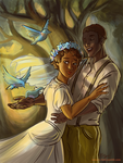 Hadestown: Wedding Song by tomato-bird