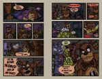 FNAF4 Comic 8 - Freddy Takes Charge - 10-2-15 by Mattartist25