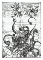 Venom comic-book page 4 by GabrieleDerosasArt