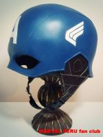Captain America Helmet_010 by raultumba