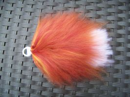 FOR SALE: Small Crimson Fox Tail by user-name-not-found