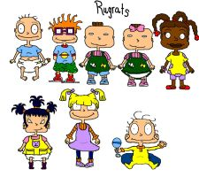 All The Characrers from Rugrats by ILikeTrains21