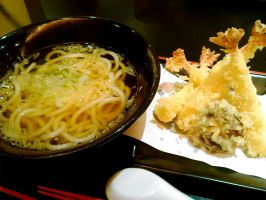 Tempura Udon by plainordinary1