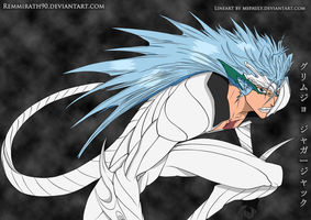 Bleach Grimmjow Jeagerjacques by Remmirath90