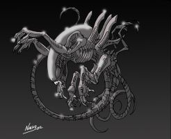 Xenomorph2 by NachoMon