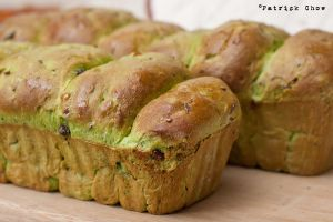 Green tea bread 1 by patchow