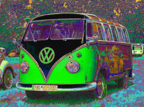 Hippie Mobile by 75frogger