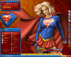 Supergirl II Desktop by a666a