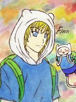 Finn - Anime Version by hirada-meirin