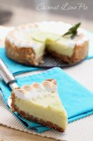 Coconut lime pie by kupenska