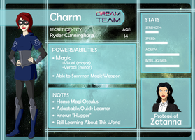 DC DT: Charm App by MistressTerrible