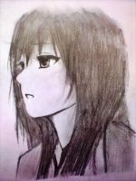 lonely anime by xinje