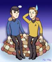 Spirk: Trouble with Tribbles by ErinPrimette