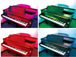 Warhol Piano by SonicHomeboy
