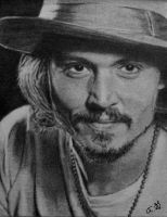 Johnny Depp on ATC by TinyAna