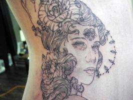 mystic gypsy witch lady session 1 close up by mishra1218